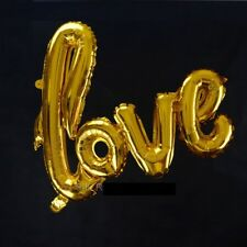 """FOIL BALLOON - LOVE LETTER ANNIVERSARY/ WEDDING /VALENTINES PARTY -15""""x21"""""""