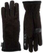 isotoner Women's SmartDri Stretch Fleece Touchscreen Gloves One Size Black