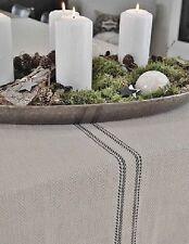 Gestreifte Tischläufer fürs Esszimmer aus 100% Baumwolle