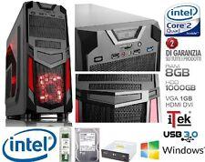 PC DESKTOP INTEL QUAD CORE GAMING ITEK INVADER 8GB RAM HD 1TB VGA 1GB HDMI DVI