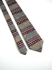 FIRST AVENUE Cravatta Tie NUOVA NEW  MADE IN ENGLAND