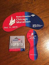 2013, 2014 And 2015 Chicago Marathon Magnets