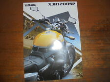 Prospekt Sales Brochure Yamaha XJR 1200 SP Naked-Bike King Replica Moped Mokick