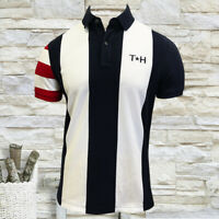 NWT TOMMY HILFIGER AUTHENTIC MEN'S NAVY BLUE SHORT SLEEVE POLO SHIRT SIZE M XL