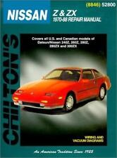 NEW - Nissan Z & ZX, 1970-88 (Chilton Total Car Care Series Manuals)