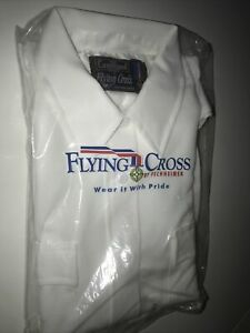 Flying Cross White Uniform Shirt 38 Duro Poplin s/s