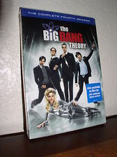 The Big Bang Theory: The Complete Fourth Season (DVD,2011,3-Disc Set,NEW-Sealed)