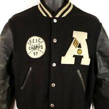 Austin High School Letterman Varsity Jacket Vintage 50s Indiana USA Size Small