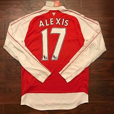 2015/16 Arsenal Home Jersey Puma Large Long Sleeve #17 Alexis Sanchez Chile BNWT