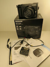 Panasonic LUMIX GX80K Digitalkamera - Schwarz Kit mit 12-32mm Objektiv wie neu