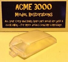 Dinky 135 Triumph 2000 Reproduction Repro Clear Plastic Window Unit