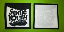 PL0177 ECUSSON PATCHES AUFNAHER TOPPA - A COUDRE 10*10 CM SONIC YOUTH
