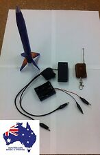 Remote Model Rocket Ignition, Starter for Launch, Wireless FM, Australian Made.