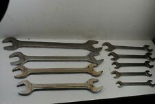 Blue Point Supreme Open End Wrenches 9 Pieces
