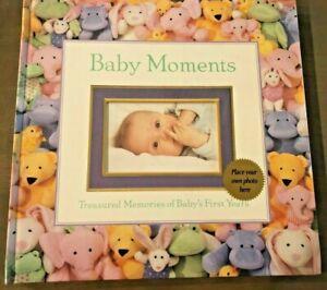 New Seasons Baby Moments Memory Book Photo Album Scrapbook