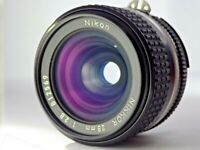 Nikon Nikkor Ai-s Ais 28mm f/2.8 Wide Angle MF Lens from Japan JP 2.8 Excellent!