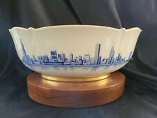 Commemorative Chicago Skyline Bowl by Pickard