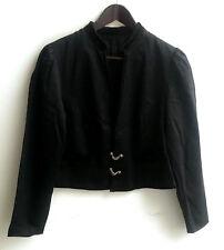 Damen Trachten Janker Jacke schwarz Gr. 44
