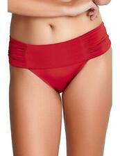Panache Marina Fold Bikini Brief Bottoms SW0837 Womens Swimwear Java Red