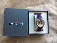 NEW IN BOX! Empress Victoria Women's Wood Rose Gold Watch FREE SHIPPING!