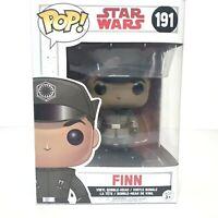 Finn Star Wars Funko Pop Vinyl #191 New & Sealed