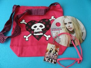 AVRIL LAVIGNE The Best Damn Thing Promo Set Bag Pass Japan BMG