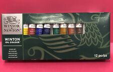 Winsor & Newton Winton Oil Color Studio 12pcs Set