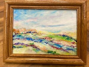 Original Impressionist Oil Painting By Artist Mary Ray