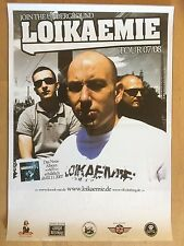 LOIKAEMIE  2007  TOUR  - orig.Concert Poster - Konzert Plakat A2 NEW