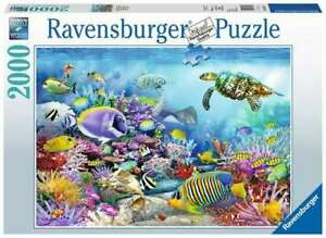 Ravensburger Puzzle 2000pc Coral Reef Majesty 6704-3