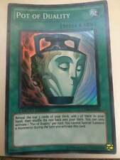 YU-GI-OH! POT OF DUALITY SUPER RARE LIMITED EDITION NEAR MINT CT08-EN008