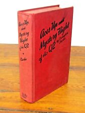 Aces Up and Mystery Flight of the Q2 by Covington Clarke (1929) - HB, GC