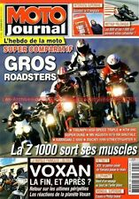 MOTO JOURNAL 1894 TRIUMPH 1050 Speed Triple KTM 990 Super Duke KAWASAKI Z1000