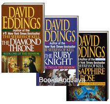 ELENIUM 1-3 (mm, pb) Diamond Throne, Ruby Knight,Sapphire Rose by  David Eddings