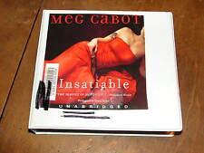 INSATIABLE by MEG CABOT UNABRIDGED CD