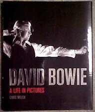 """DAVID BOWIE """"A LIFE IN PICTURES"""" HARDCOVER 1ST EDITION (2013) CHRIS WELCH"""