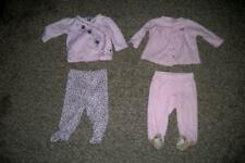 4-PC lot of Baby Girl Outfits by Carter's and Petit Lem (3 months)