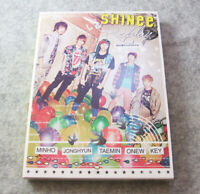 SHINee Replay CD+DVD+Photo card JAPAN Limited Edition