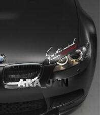 Sports mind Racing Decal Sticker sport car hood logo motorsport auto performance