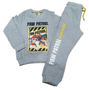 Ex Chainstore Paw Patrol Boys Girls Tracksuit Outfit Boy Girls set 2-8 Years NEW