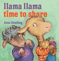 Llama Llama, Time to Share, School And Library by Dewdney, Anna, Brand New, F...
