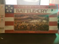 Vintage 1975 American Heritage Battle-Cry Civil War Board Game 100% Complete