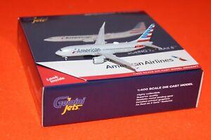 GEMINI JETS GJ1863 AMERICAN AL BOEING 737 MAX8 reg N324RN 1-400 SCALE