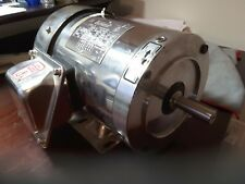 Sterling Electric Motor STAINLESS SBY152PHA 1-1/2HP  208-230/460V TEFC NEW $799
