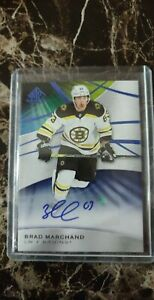 2019-20 Brad Marchand SP Game Used Auto