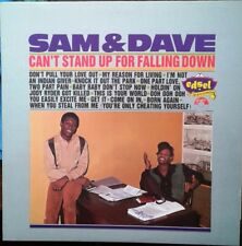 "LP SAM & DAVE ""Can't Stand Up For Falling Down"" 1994 Vinyl Album Edsel Reissue"