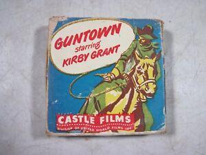 Vintage Antique Guntown Kirby Grant Castle Films 16mm Film Movie 1940's