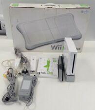Bundle Nintendo Wii Games Console x2 Controllers x1 Balance Board x1 Game