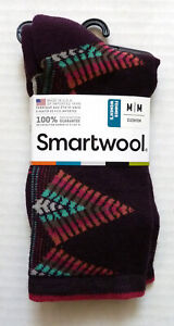 New Women`s SmartWool Tiva Socks Crew Merino Wool SW010402