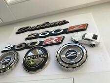 DATSUN 260z Full Emblème SET EN METAL-Bonnet Badge/Qtr Badge/Hatch